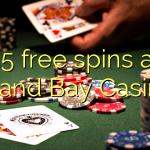 35 free spins at Grand Bay Casino