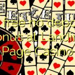 40 free no deposit bonus at Landing Page Casino