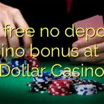 40 free no deposit casino bonus at Big Dollar Casino