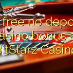 40 free no deposit casino bonus at BitStarz Casino