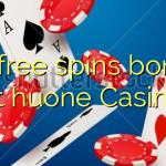 40 free spins bonus at huone Casino
