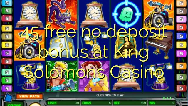 king solomon casino no deposit bonus