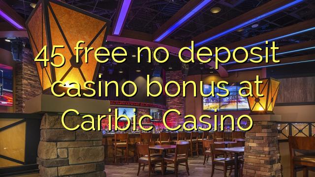 caribic casino no deposit bonus code