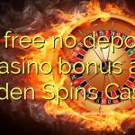45 free no deposit casino bonus at Golden Spins Casino