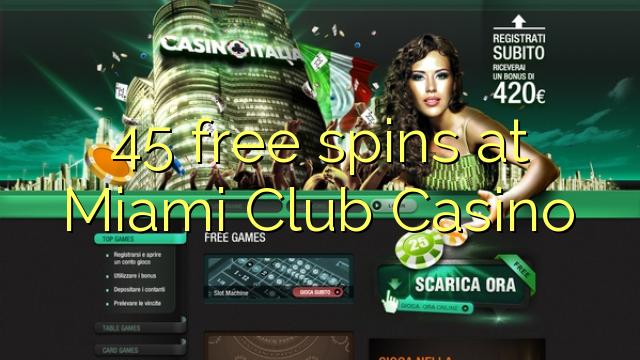 miami club casino free spins