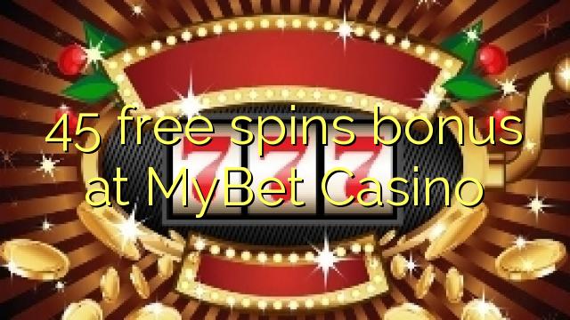 Mybet Casino No Deposit Bonus Code