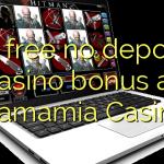 50 free no deposit casino bonus at Mamamia Casino