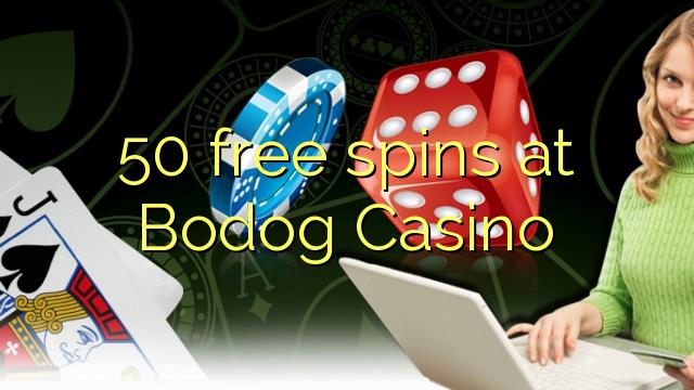 50 free spins at Bodog Casino