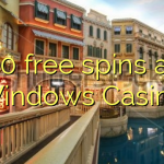 50 free spins at Windows Casino