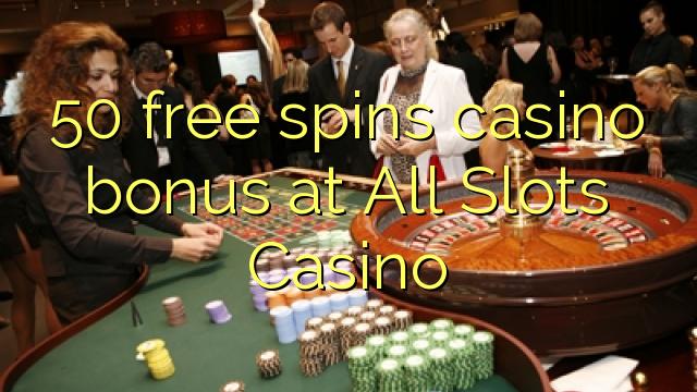 50 gratis spins casino bonus på All Slots Casino