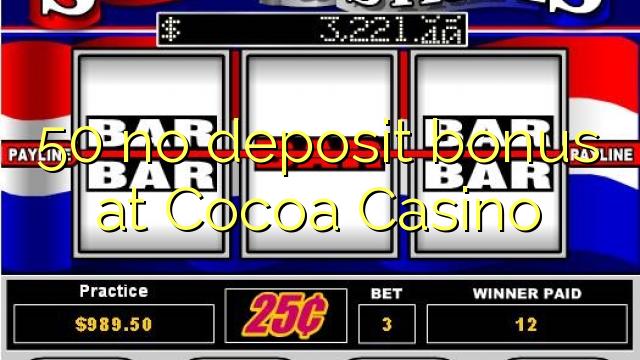Cocoa casino usa no deposit