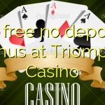 55 free no deposit bonus at Triomphe Casino