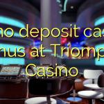 60 no deposit casino bonus at Triomphe Casino