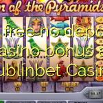 65 free no deposit casino bonus at Dublinbet Casino