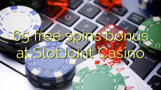 65 bébas spins bonus di SlotJoint Kasino