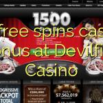 65 free spins casino bonus at Devilfish Casino