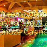 75 free no deposit casino bonus at Dhoze Casino