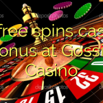 75 free spins casino bonus at Gossip Casino