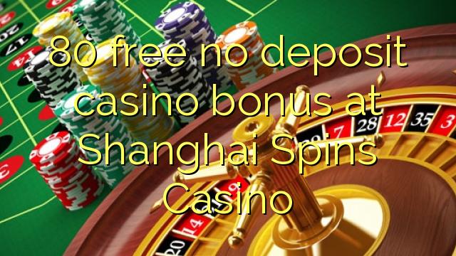 80 Free Spins No Deposit
