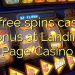 80 free spins casino bonus at Landing Page Casino
