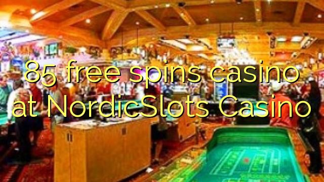 85 озод spins казино дар NordicSlots Казино