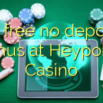 90 free no deposit bonus at Heypoker Casino