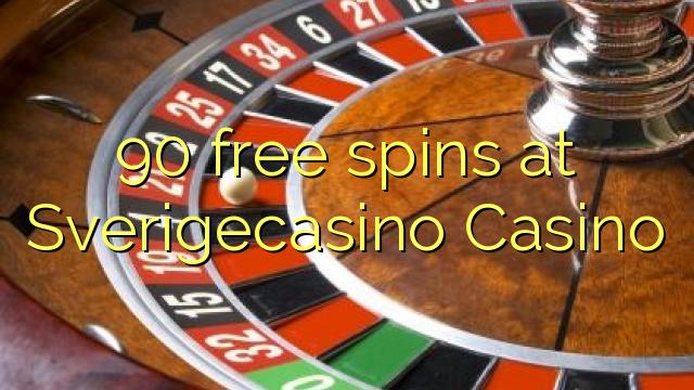 90 Freispiele im Sverigecasino Casino