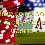 90 free spins bonus at Slotty Vegas Casino
