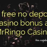 95 free no deposit casino bonus at MrRingo Casino