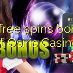 95 free spins bonus at Osiris Casino