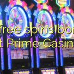 95 free spins bonus at Prime  Casino