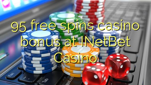 95 free spins casino bonus at INetBet Casino