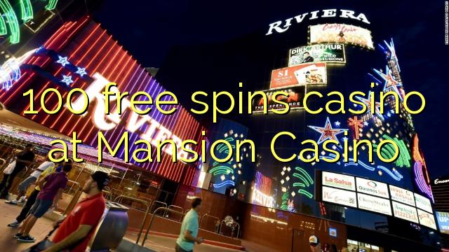 mansion casino signup bonus