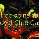 100 free spins casino at Royal Club Casino