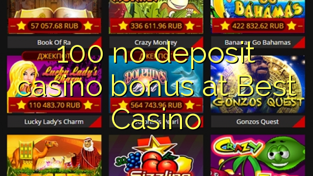 best casino bonus code