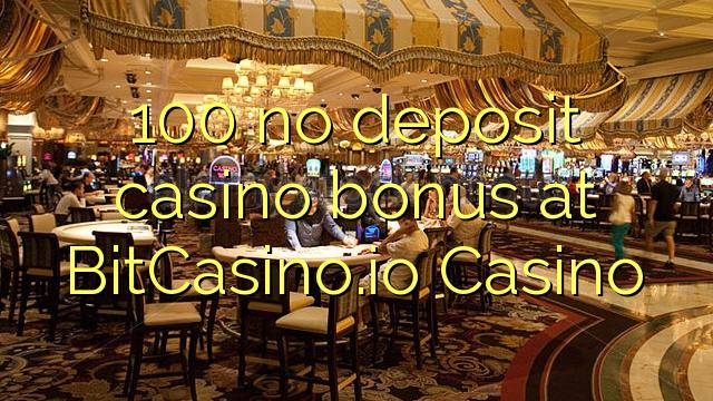 100 زیرمې بک په BitCasino.io بک امتیازات نه