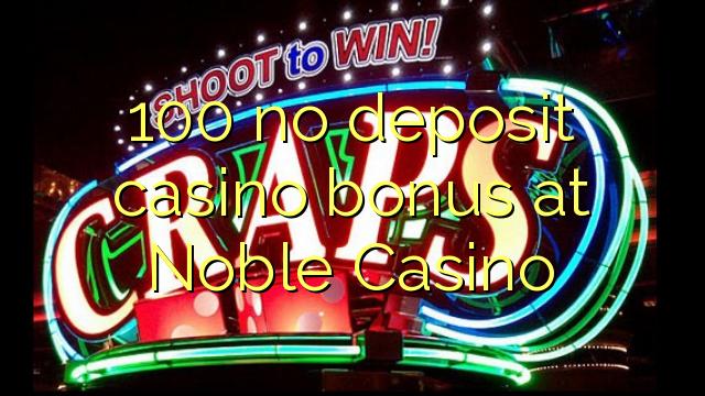 noble casino no deposit