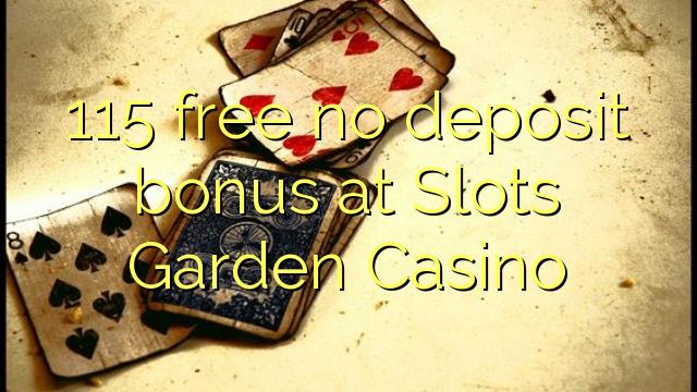 casino online with free bonus no deposit garden spiele