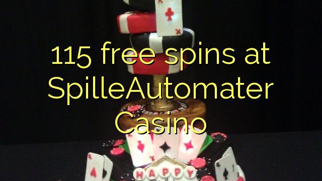 115 darmowe spiny w kasynie SpilleAutomater