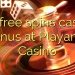 115 free spins casino bonus at Playamo Casino