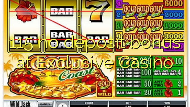 no deposit bonus code for exclusive casino