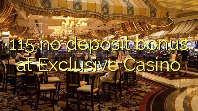 exclusive no deposit bonus casino