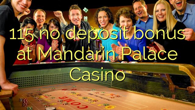 mandarin palace casino free bonus code