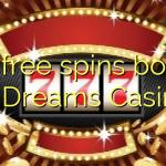 125 free spins bonus at Dreams Casino