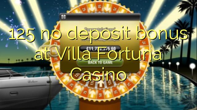 no deposit bonus codes for villa fortuna casino