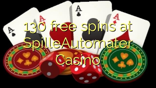 130 gratis spinn på Spille Casino