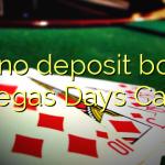 130 no deposit bonus at Vegas Days Casino