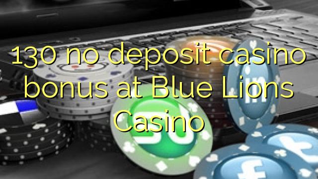 130 sin depósito de bonificación de casino en Blue Lions Casino