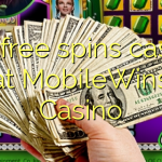 135 free spins casino at MobileWins Casino