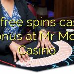 140 free spins casino bonus at Mr Mobi Casino